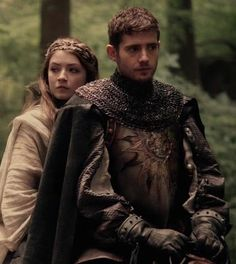 Aurora and Philip portrayed by Sarah Bolger and Julian Morris