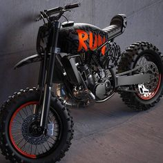 The Kyza inspired scrambler concept from the ever-talented Can't wait to see this thing. Tracker Motorcycle, Moto Bike, Cafe Racer Motorcycle, Motorcycle Design, Knucklehead Motorcycle, Honda Motorcycles, Custom Motorcycles, Vintage Motorcycles, Bike Lovers