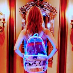 Ashish x Topshop LED backpack