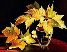 Осенние листья... - Схемы вышивки - Miss_Ikss - Авторы - Портал «Вышивка крестом»