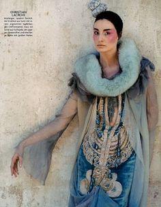 Fabulous Ethnic Tribal Style German Vogue October 2005