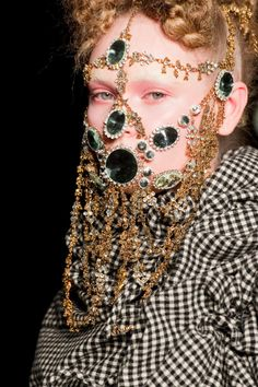 Face jewelry seem like a new thing.