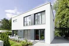 Einzelseite Bauhaus-Stil
