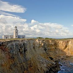 One of many lighthouses in the island. This one is the Faro de los Morillos de Cabo Rojo built 1882.