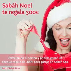 #SabahNoel te regala 300€ de bienestar, salud y belleza en @Sabah Spa