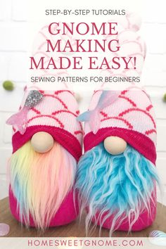 Crafts To Do, Diy Craft Projects, Craft Tutorials, Arts And Crafts, Craft Ideas, Christmas Gnome, Christmas Crafts, Crafty Craft, Crafting