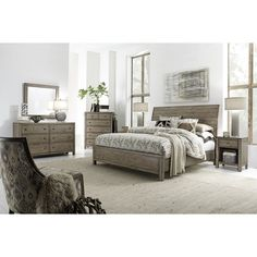 Trinell 5-pc. Queen Bedroom Set   Pinterest   Modern farmhouse style ...