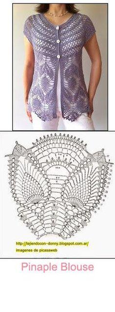 pinaple blouse: