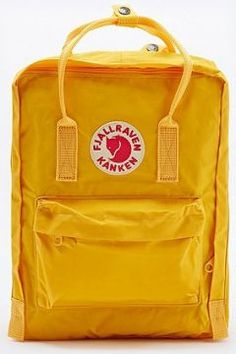 Shop Fjallraven Kanken Classic Warm Yellow Backpack at Urban Outfitters  today. We carry all the latest styles, colours and brands for you to choose  from ...