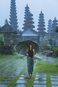 Besakih Temple in the rain. Bali, Indonesia Through Our Lens [16 Photos] One of Asia's popular tropical getaways- Bobo and ChiChi