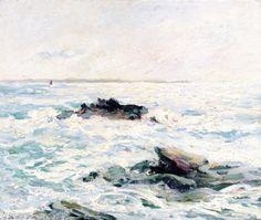 The Sea in the Sun, Quiberon, Morbihan Maxime Maufra - 1916