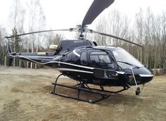 AS350 B3e with cargo swing