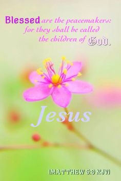 Matthew 5:9 KJV
