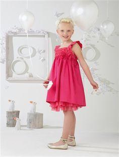 Robe fillette rose