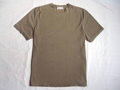 "MEN'S BRUNELLO CUCINELLI ITALY ""CASUAL-LUXE"" CLASSIC CREW T-SHIRT TEE TOP $325 L #BRUNELLOCUCINELLI #tshirt"