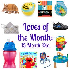 Loves of the Month: 15 Month Old