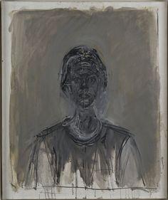 Alberto Giacometti (1901-1966) - Black Annette (1962)