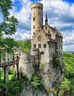 "Lichtenstein Castle, Germany. I've been!!! For most of 1991. Ex-Husband was stationed in Mannheim. Some sites/Castles seen ""ARMY"""