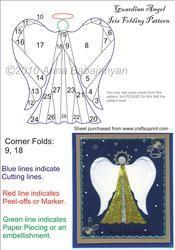 View Guardian Angel Iris Folding Pattern Details
