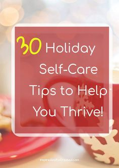 With this FREE 26 PAGE PLANNER, you will sail through the holidays and have time for yourself to enjoy them! #inspiredandrefreshed #holidayplanner #selfcare #Christmasplanner