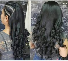 Curly Hair Braids, Curly Hair Styles, Grow Hair, Hair Videos, Hair Hacks, Hair Goals, Braided Hairstyles, Beautiful Pictures, Hair Makeup