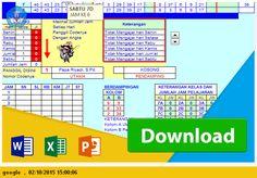 Contoh Aplikasi Jadwal pelajaran SMP EXCEL Tahun Pelajaran 2015 TANPA BENTROK File Pendidikan