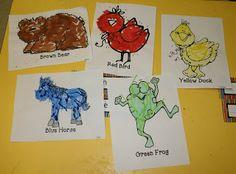 Mrs. Mayas' Kindergarten: Brown Bear Activities & Center Fun