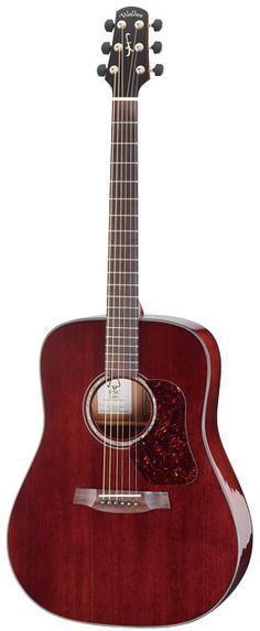Walden Guitars CD4041E-CERT dreadnought with Central American mahogany top and sides.