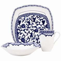 Ralph Lauren Mandarin Blue China