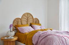 Bedding Photoshoot Romantic - Ikea Bedding Makeover - - Blue Bedding Boho - Comfy Bedding Aesthetic - Modern Bedding With Lights Lilac Bedding, Dorm Bedding, Girls Bedroom, Bedroom Decor, Bedroom Inspo, Lilac Room, Circle Bed, Pastel Home Decor, Comfy Bed