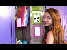 Back-to-School: Locker Organization and Essentials! For girls. I love this Youtube channel. #stilababe09