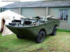 GAZ-46 Russian amphibious vehicle