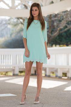 One True Love Dress, Mint