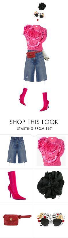 """IT!"" by maria-laura-correa-da-silva ❤ liked on Polyvore featuring Simon Miller, Delpozo, Balenciaga, Morgan & Taylor, Chanel, Dolce&Gabbana and TONYMOLY"