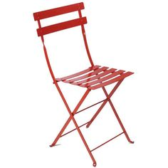 Folding Metal Bistro Chairs