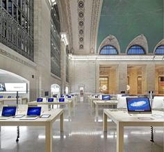 Apple Store Grand Central Station  #applestorearchitectureretail Pinned by www.modlar.com