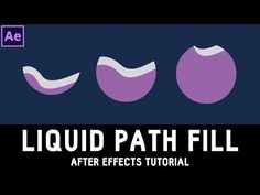 Tutorial 03: Liquid Text Fill with a Path in After Effects ✔ - YouTube