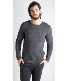 Maglione in girocollo filato dalla vestibilità regolare - Ex-J