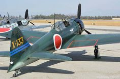 Planes of Fame Air Show 2013 - Mitsubishi A6M3 Zero, NX712Z | Flickr - Photo Sharing!