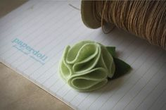 felt blossom by Paperdoll Accessories