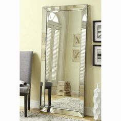 Shop Coaster Fine Furniture  901813 Floor Mirror at ATG Stores. Browse our floor mirrors, all with free shipping and best price guaranteed.