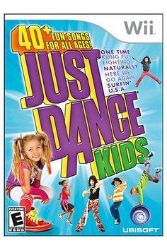 Nintendo Wii Just Dance Kids