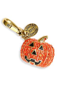 Juicy Couture Pumpkin Charm (Limited Edition)  One of my favourites! Roll on Halloween!