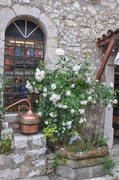 Gourdon ~ France. Travel in France and learn fluent French with the Eurolingua Institute http://www.eurolingua.com/french/homestay-france-2