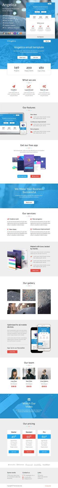Angeli-responsive email+SR builder