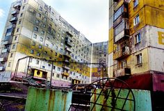 apartment buildings in norilsk  ::perspective