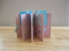 One sheet 12x12 mini book with tags