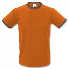 T-Shirt Uomo a contrasto #CREA #TU #PUMPSTREET #SERIGRAFIA #GKC #PGF #DISTRIBUTISMO