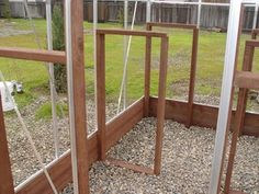 Greenhouse Plans 127860076909364597 - Building and Improving the Harbor Freight Greenhouse : 11 Steps (with Pictures) – Instructables Source by luckysvn 6x8 Greenhouse, Diy Greenhouse Plans, Greenhouse Academy, Backyard Greenhouse, Backyard Sheds, Harbor Freight Greenhouse, Polycarbonate Panels, Shed Building Plans, Cold Frame