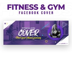 Social Media Template, Gym Workouts, Cover Design, Templates, Marketing, Facebook, Fitness, Color, Stencils